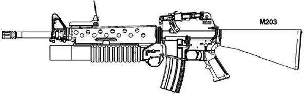 Name:  M203 on M16A1.jpg Views: 575 Size:  16.4 KB